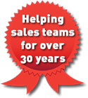 Helping sales teams for over 30 years