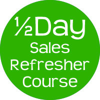 sales refresher course